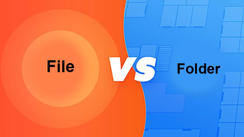 file vs folder có giống nhau không ?