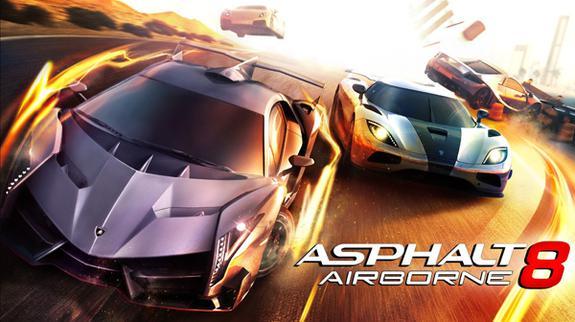Game đua xe Asphalt 8 Airborne